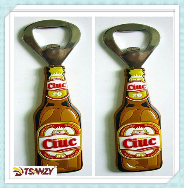 promotional PVC bottle opener/beer opener