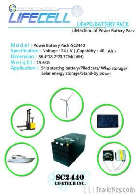 LiFePO4 Batteries Pack
