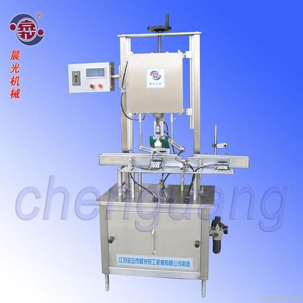 one head automatic capping machine