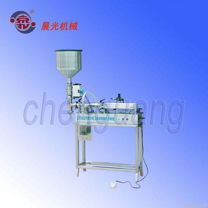 Semi-automatic liquid filling machine (paste filling machine)