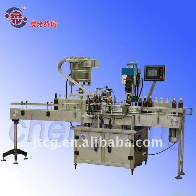 Automatic (Metal) Aluminum capping machine