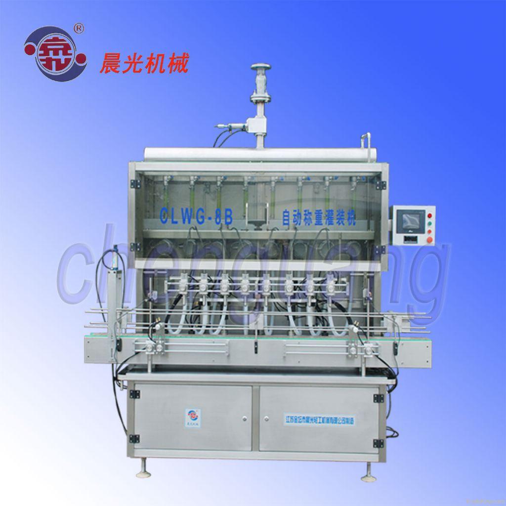 1L - 5L automatic olive oil filling machine (edible oil, motor oil)