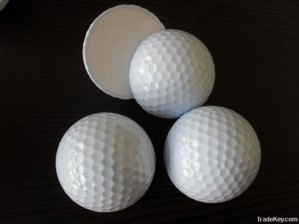 sell range golf ball(2pcs/392dimples)