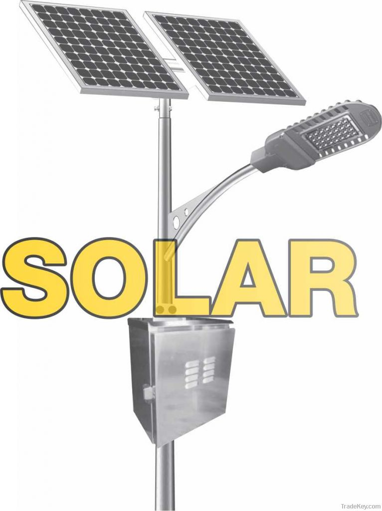 SOLAR LAMPS LED STREET LIGHT AND LIGHT POLES