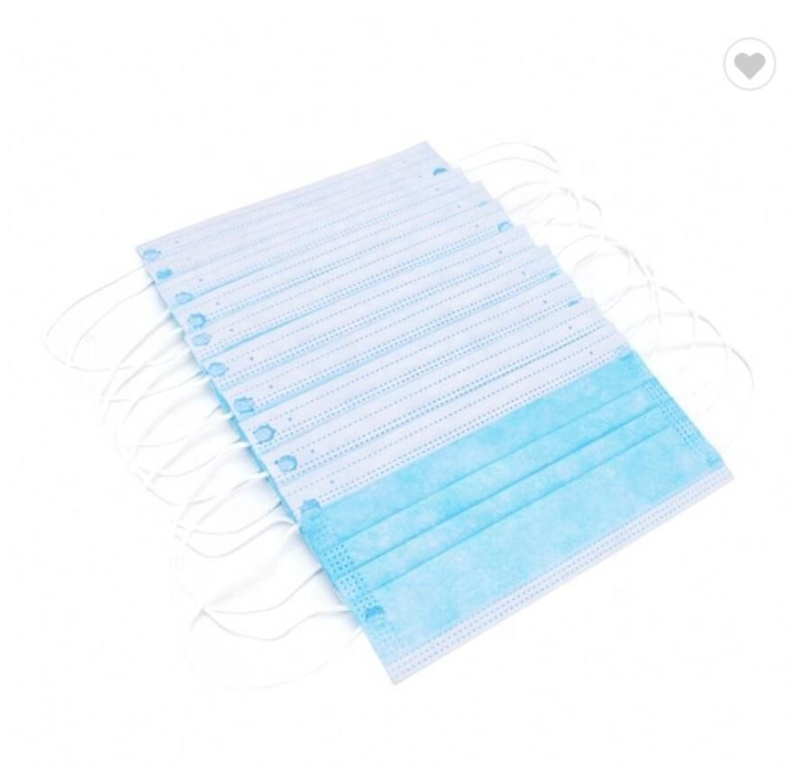 3 Ply Non-Woven Fabric Breathing Face Mask
