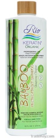 Rio Keratin Bamboo Pre-Treatment Shampoo Step 1