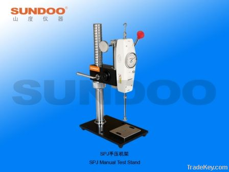 SPJ Manual Test Stand