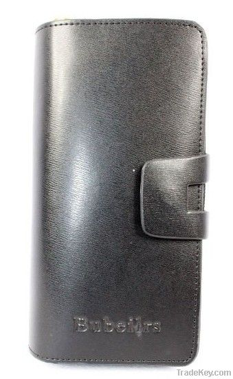 high quality inport top grain leather Men Wallet