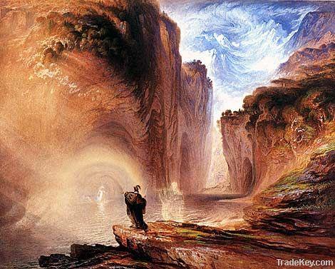 Oil paintings Paint Pail