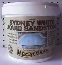 Megatreat Sydney White Liquid Sandstone