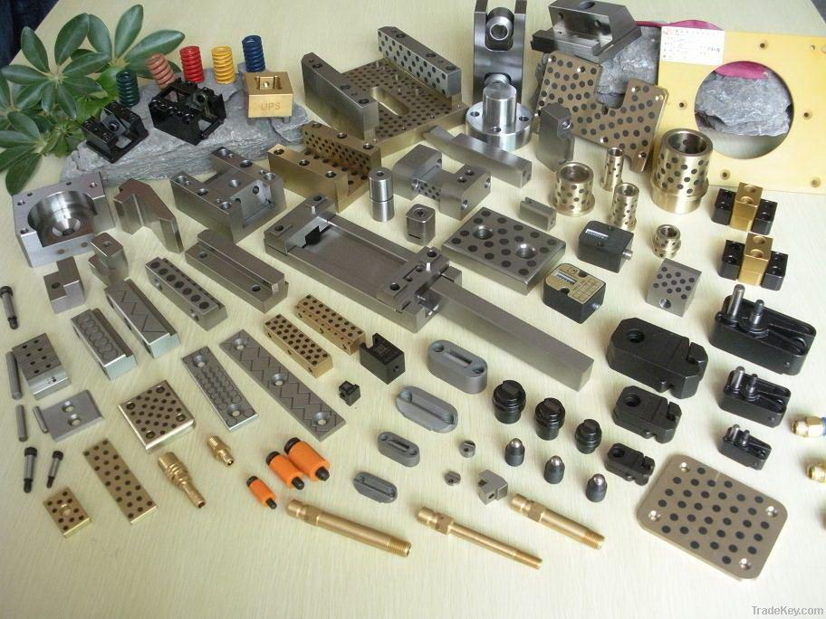 mold components, Taper Locks, Latch lock, taper pins