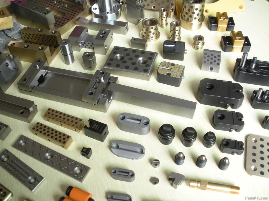 Mold slide retainer, slide holding devices