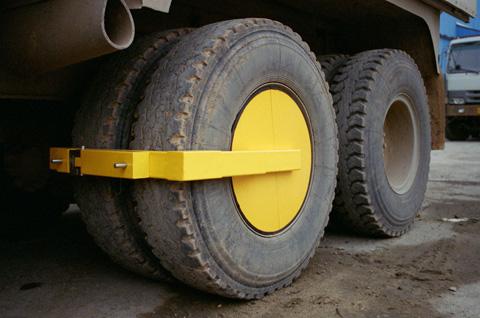 Double Wheel Immobilizer (STD-98LA-2)