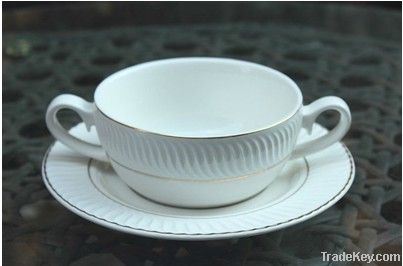 White Porcelain Drinkware Set (sixu style)