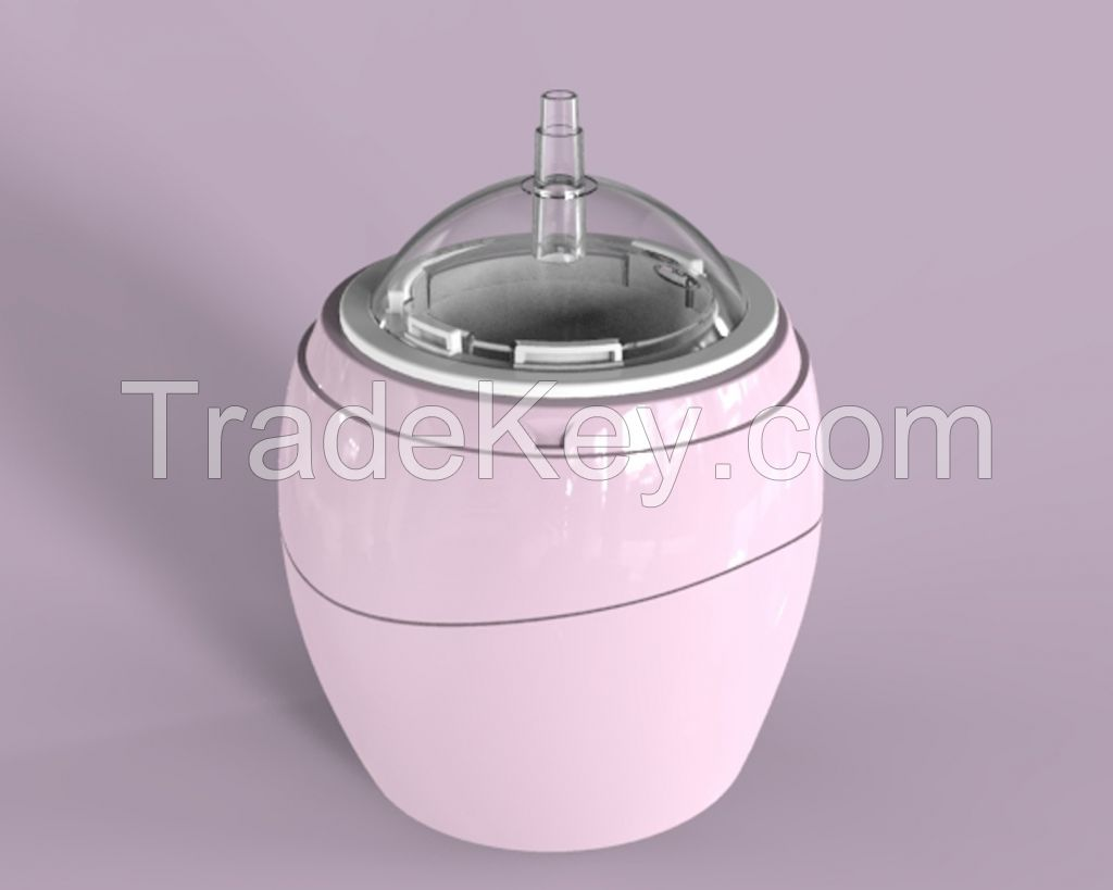 Touch Ultrasonic Aroma Diffuser - Acorn (Pink)