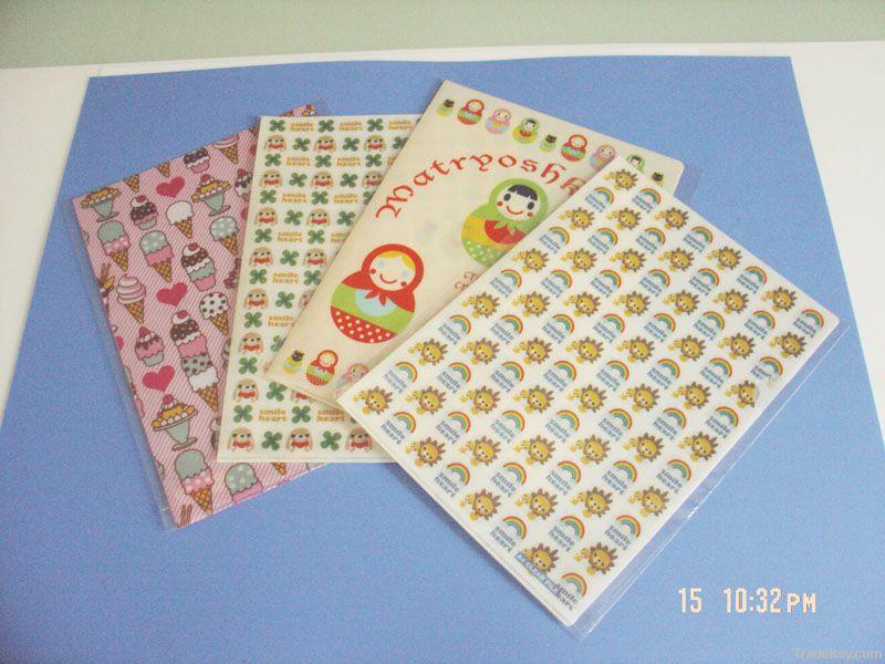 pp plastic L shape file folder envelop
