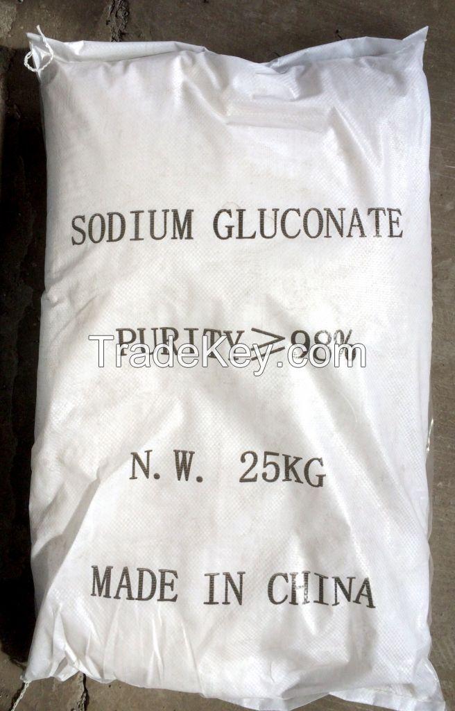 Sodium Gluconate Used For Raw Material Of Concrete Admixture