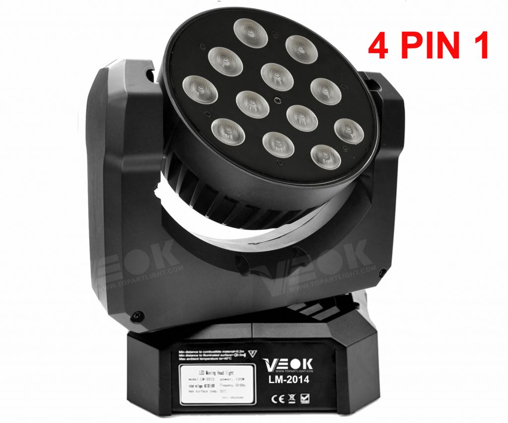 12*10W LED moving head light