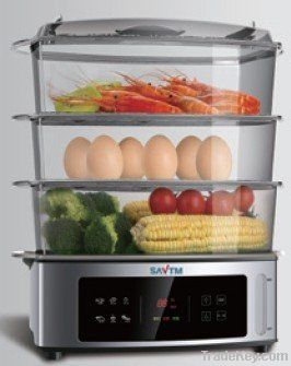Stainless food steamer