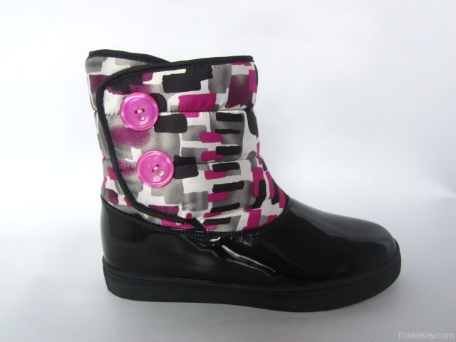 women leather winter boots