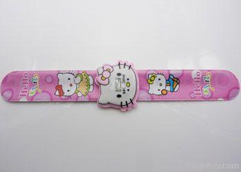 Fashion pvc snap bracelet