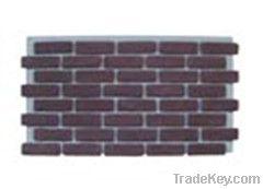 Archaized brick panel