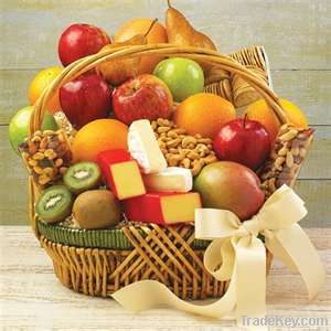 Cheese and Fruit Basket