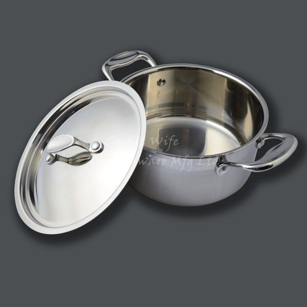 High quality stainless steel cookware cooking pot