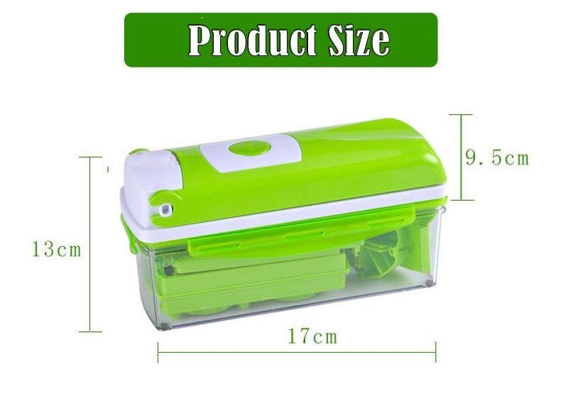 Multi-function vegetable kitchen tool set ricer dicer slicer as seen on tv