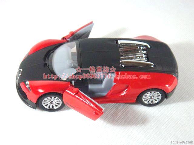 Back to sound and light customer bugatti sports car