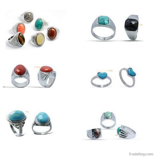 Fashion Semi-precious stone Ring