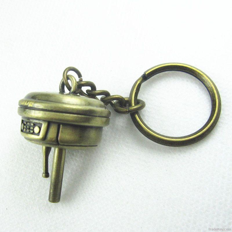 3D miniature key chain