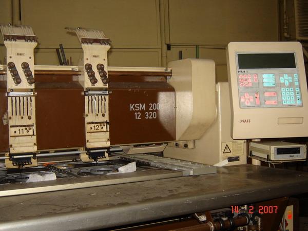 Computerized Embroidery Multi Head Machine