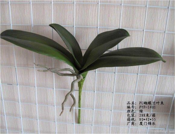 PU phalaenopsis leaves