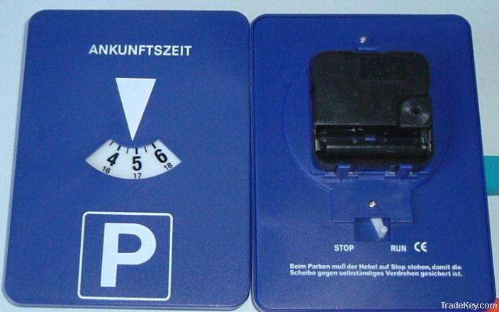 Plastic Parking Disc