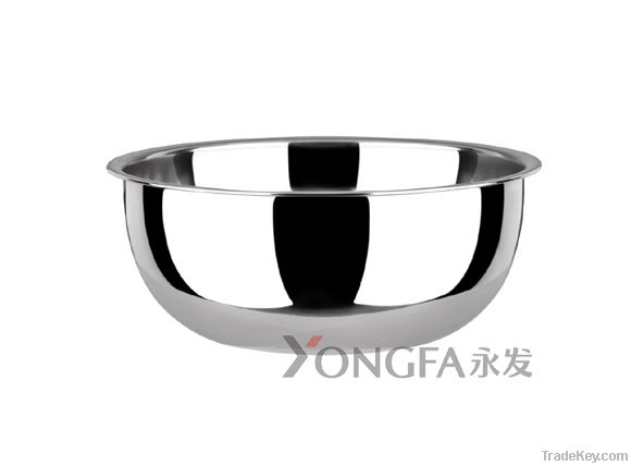 stainless steel mixing bowl, salad bowl, ???? ?????? ????
