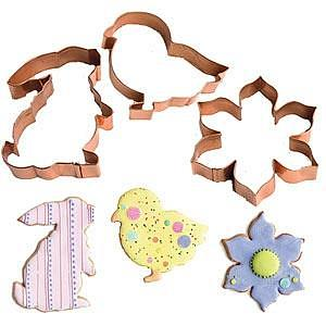 Cookie Cutters ~ Stainless Steel, Copper