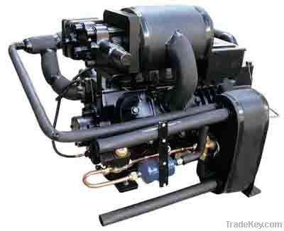 2-Stage Refrigeration Compressors