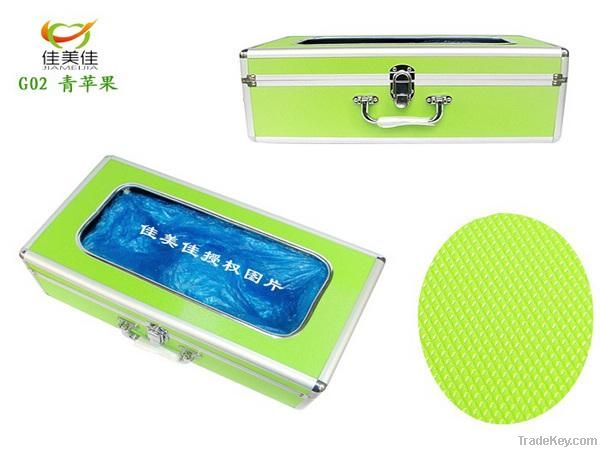 Green Apple Aluminium Alloy Shoe Cover Machine