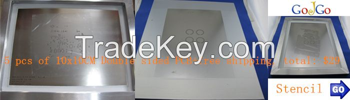 4 Layers PCB Production Prototype Fabrication, instant online PCB quote 50mmx50mm, 10pcs/lot