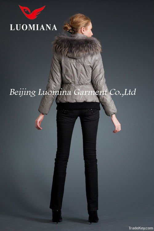 HOT SALE: Popular Down Jacket women with factory price