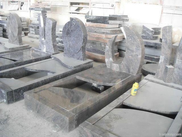 granite memorial stone, tombstone, monument, gravestone