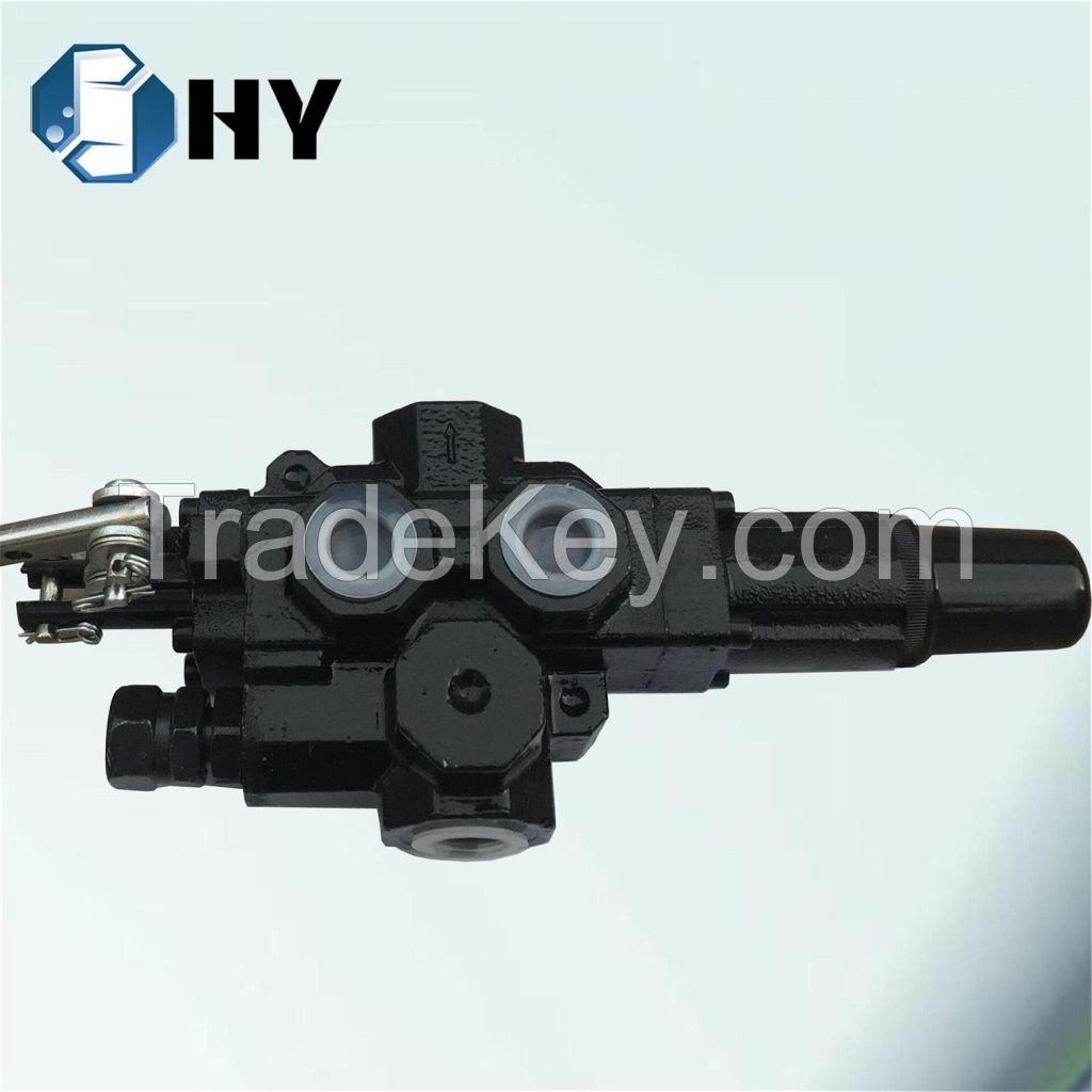 1 Spool Log Splitter Valve Hydraulic Handle Control for Wood Cutting Machine
