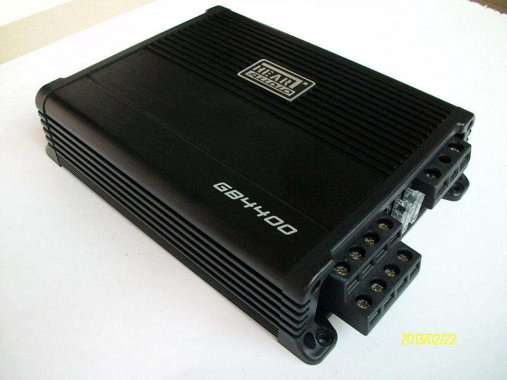 High Power 4-Channel  Class D  Mini Car Amplifier 80W*4