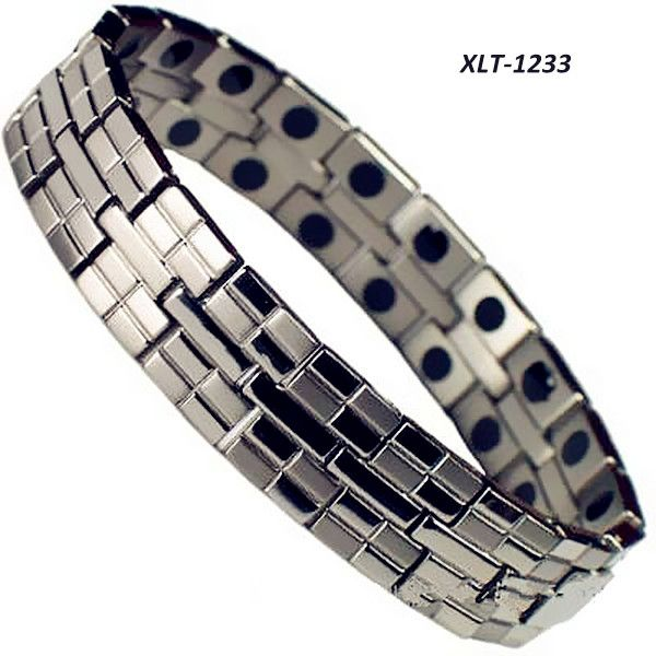 XLT-1226 Bio Magnetic Titanium Bracelets