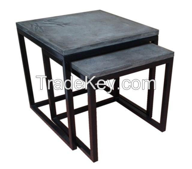 fiber concrete cement outdoor indoor furniture