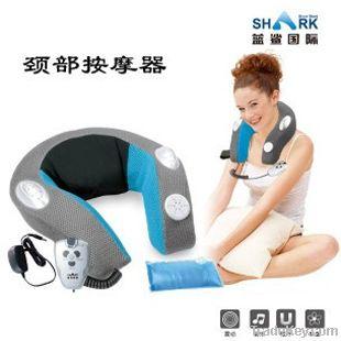Blet style neck massage apparatus