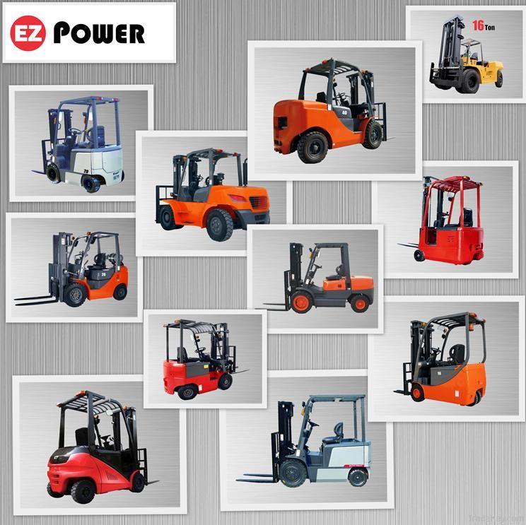 Forklift truck, diesel forklift, electric forklift, warehouse equipment,