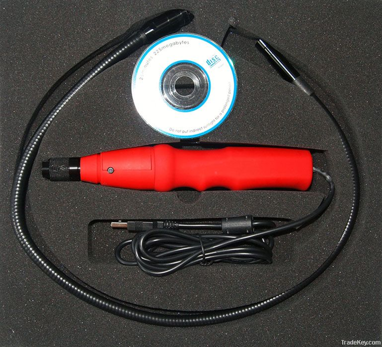 USB flexible endoscope with 1.3Mega pixel