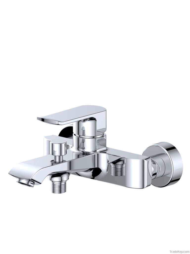wall bath and shower mixer
